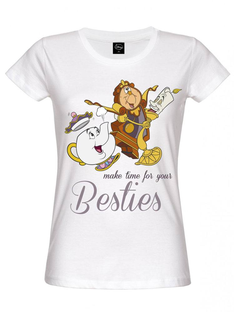 Beauty and the Beast Ladies T-Shirt Besties Size XL