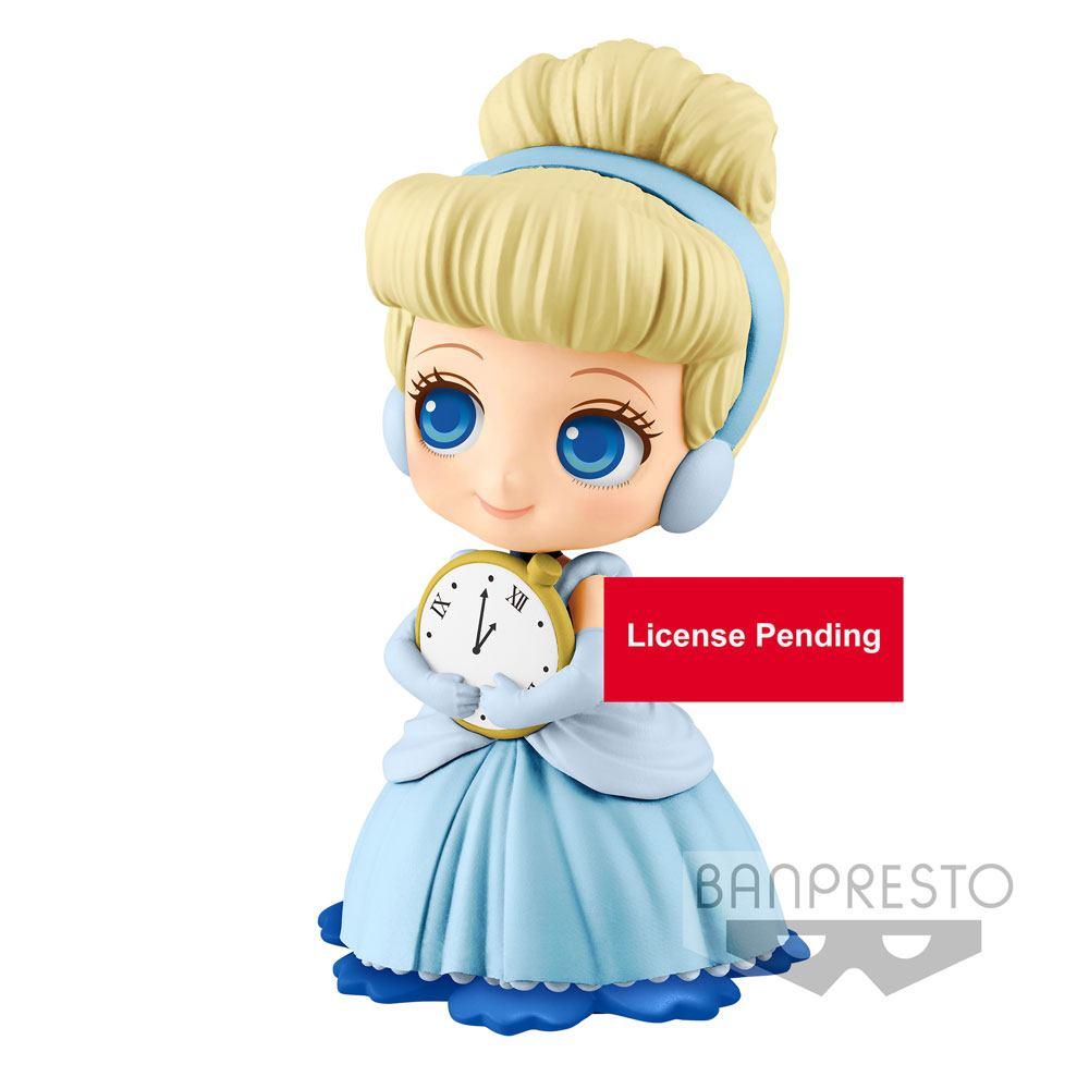 Disney Q Posket Sweetiny Mini Figure Cinderella Ver. B 10 cm