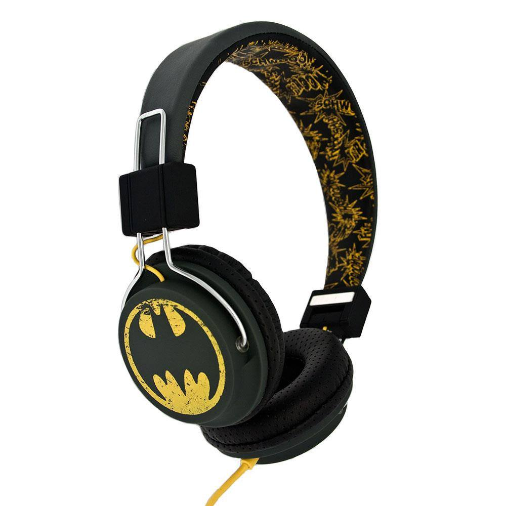 Batman Teen Headphones Vintage Logo