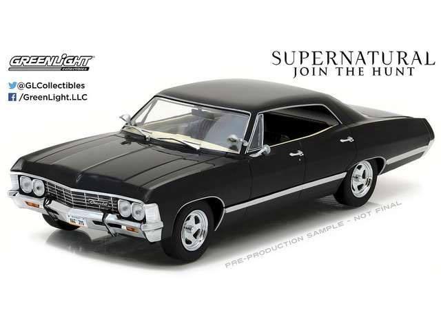 Supernatural Diecast Model 1/24 1967 Impala Sport Sedan