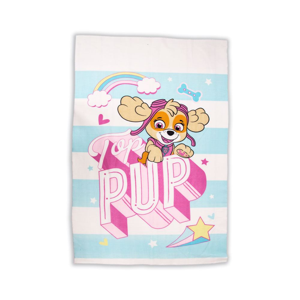 Paw Patrol Fleece Blanket Pastels 100 x 150 cm