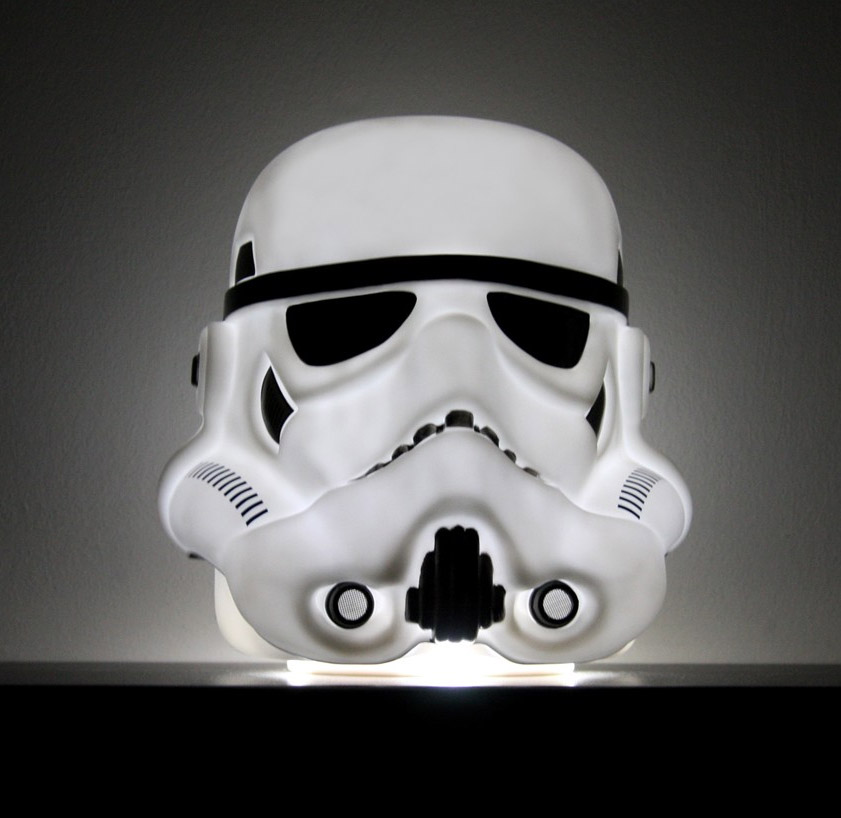 Star Wars Stormtrooper Mood Light Lamp 25 cm --- DAMAGED PACKAGING