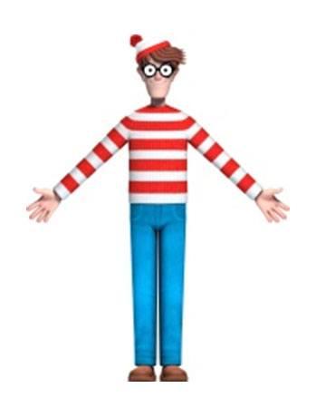 Where's Waldo? Bendable Figure Waldo 14 cm