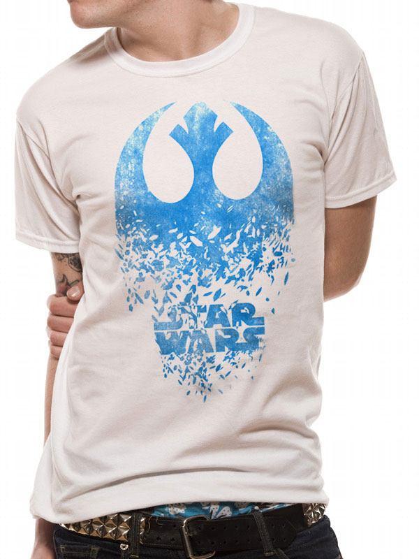Star Wars T-Shirt Jedi Badge Explosion Size L
