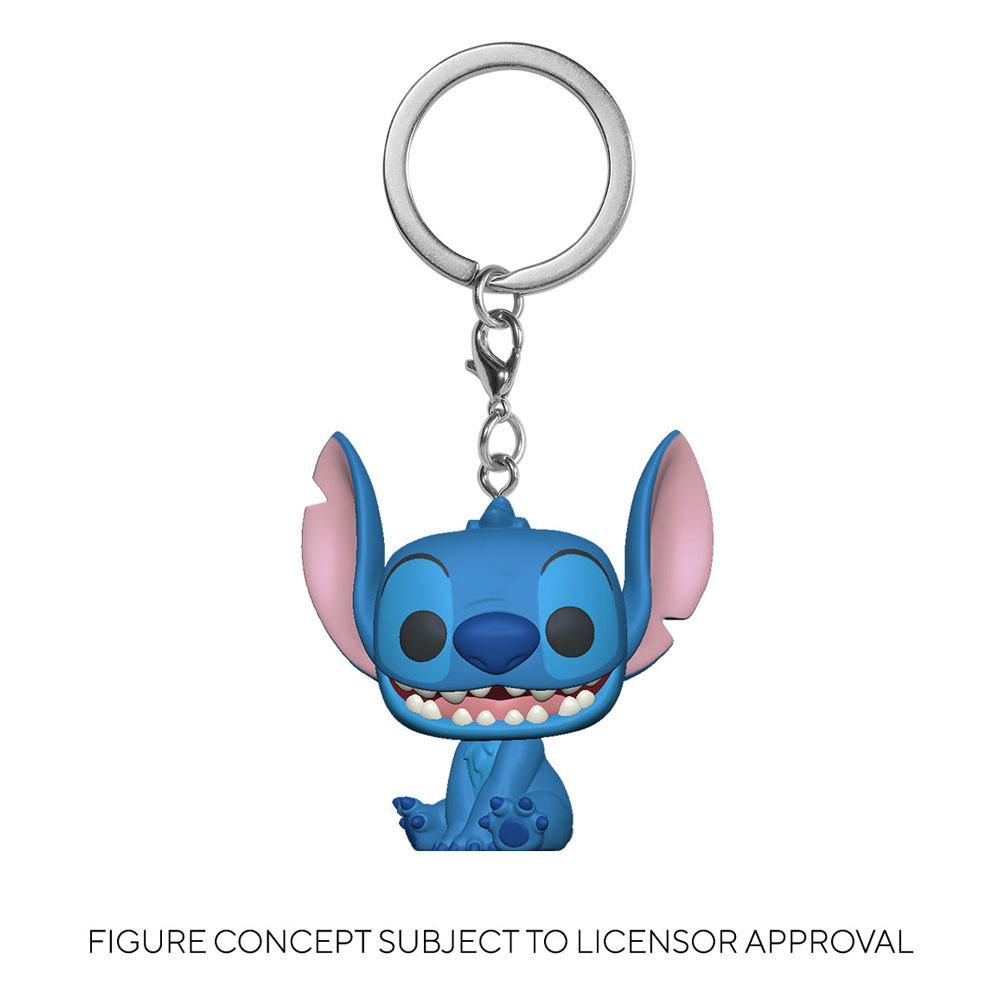 Lilo & Stitch Pocket POP! Vinyl Keychains 4 cm Stitch Display (12)
