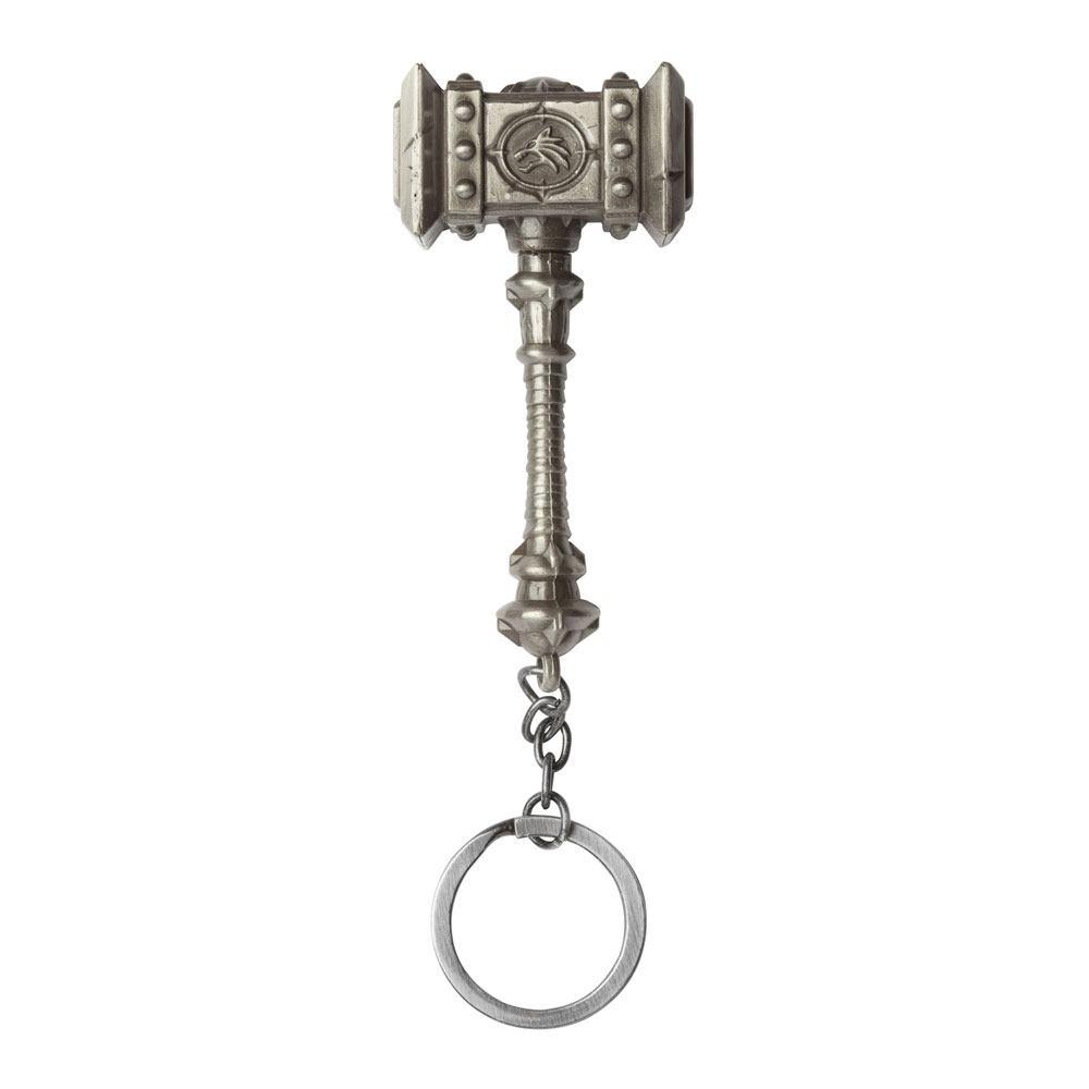 World of Warcraft Metal Keychain Doomhammer 7 cm