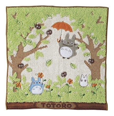 My Neighbor Totoro Mini Towel Shade of the Tree 25 x 25 cm
