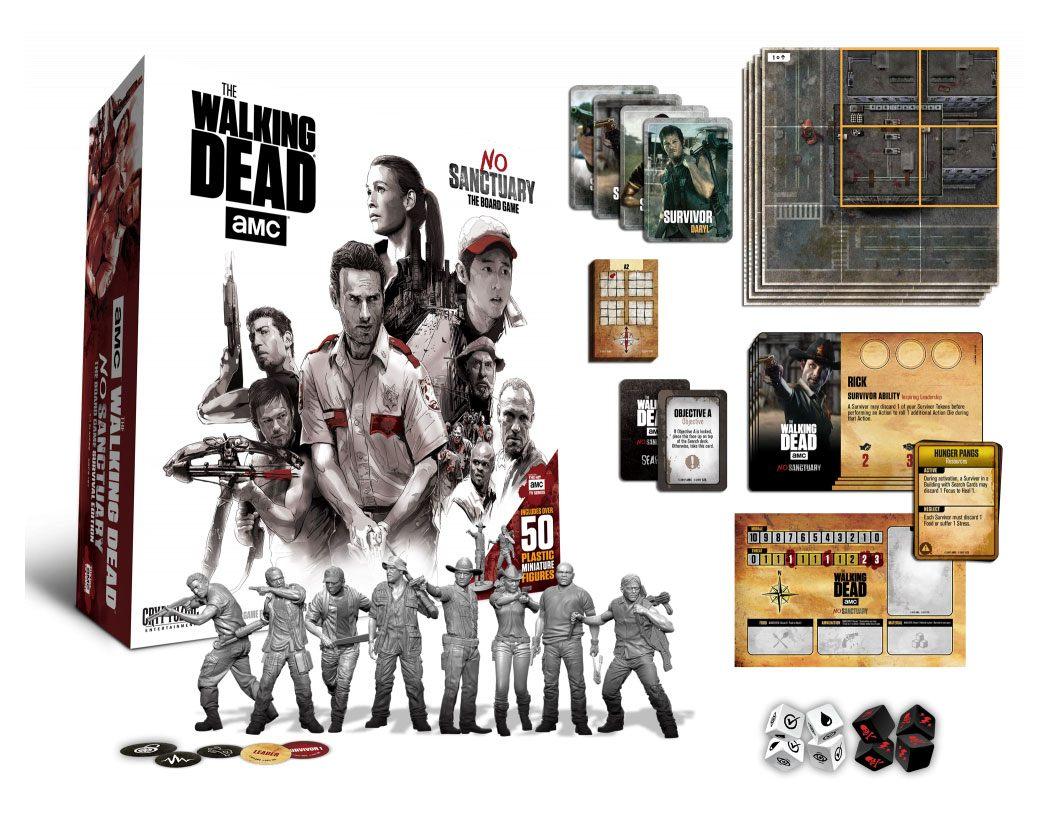 Walking Dead Board Game No Sanctuary *English Version*