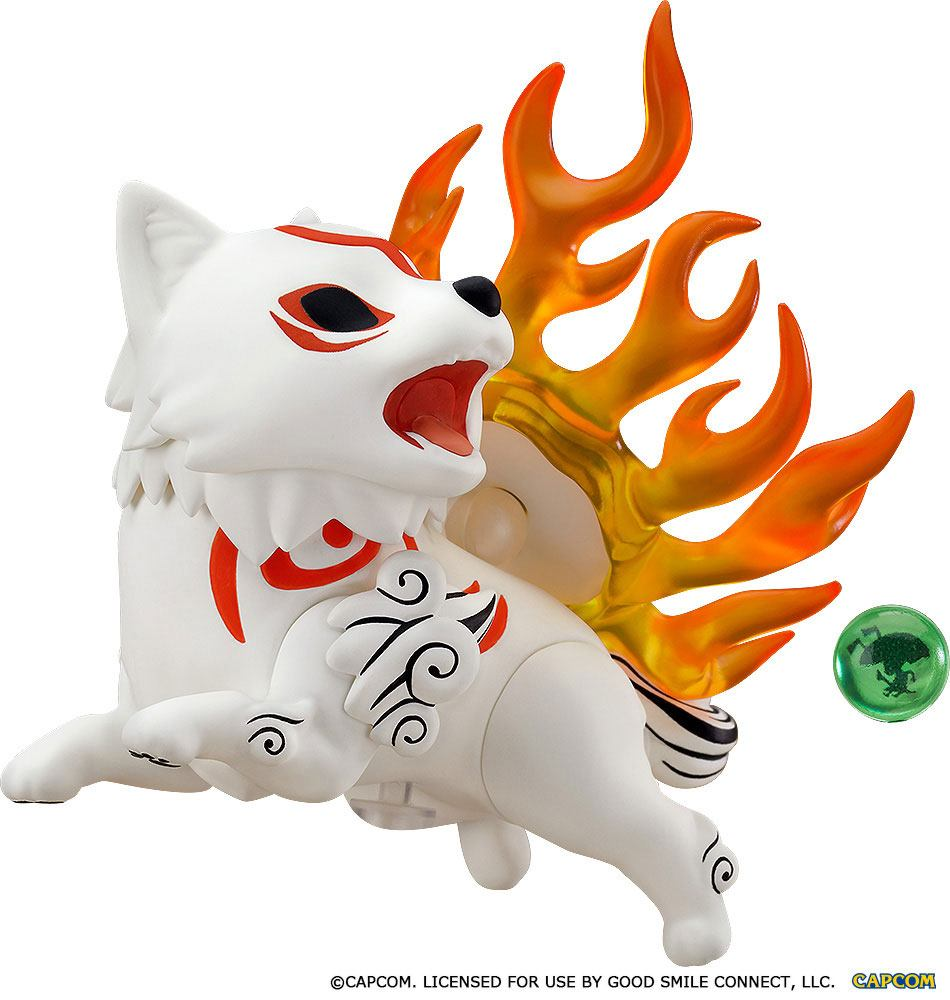 Okami Nendoroid Action Figure Amaterasu 10 cm