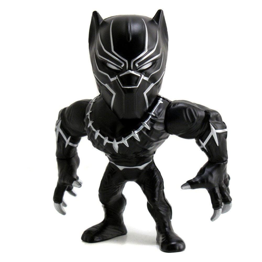 Captain America Civil War Metals Diecast Mini Figure Black Panther 10 cm