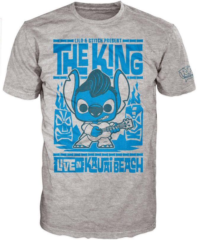 Lilo & Stitch POP! Tees T-Shirt Elvis Stitch Size M