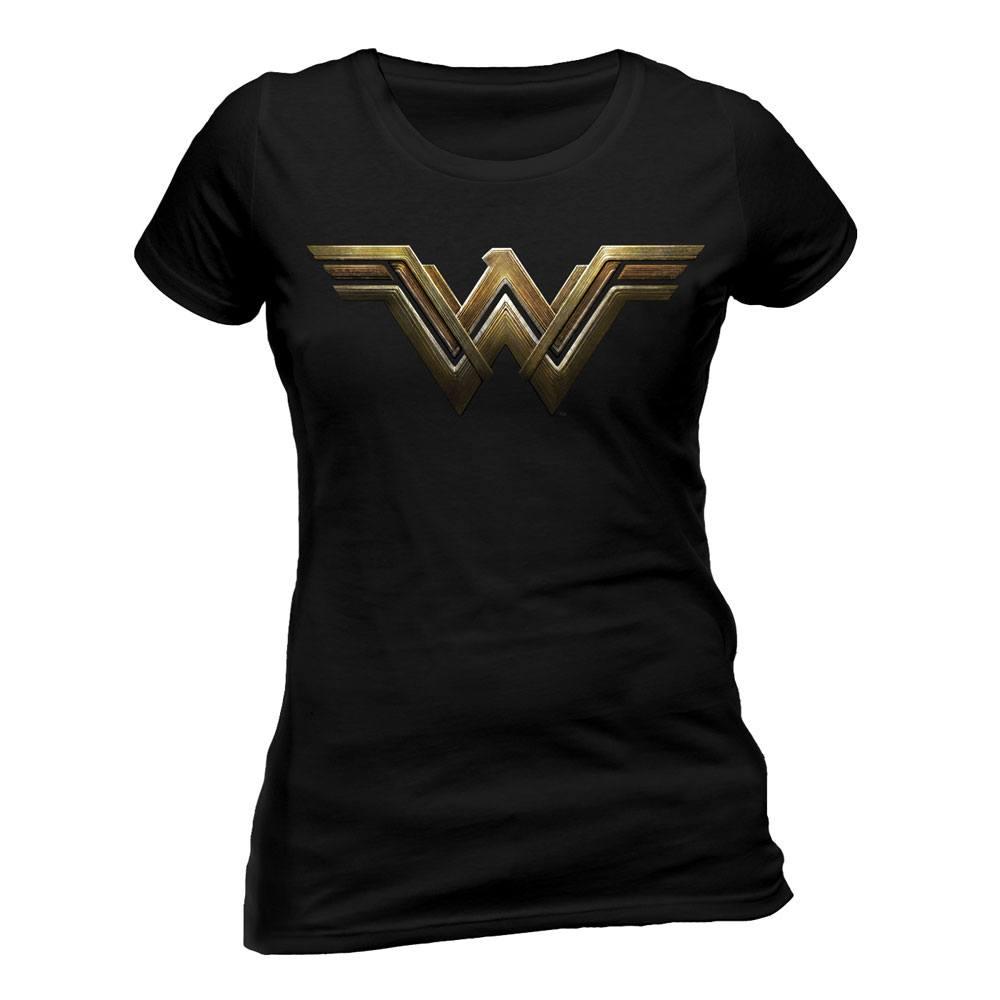Wonder Woman Ladies T-Shirt Logo Size L