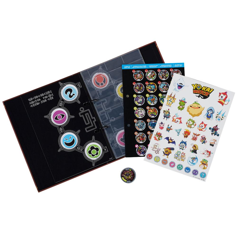 Yo-Kai Watch Medals Collection Book