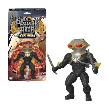 DC Primal Age Action Figure Black Manta 13 cm