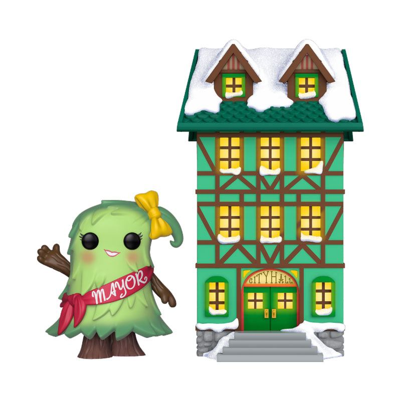 Funko Christmas Village POP! Town Vinyl Figure Town Hall w/Mayor Patty Noble 9 cm