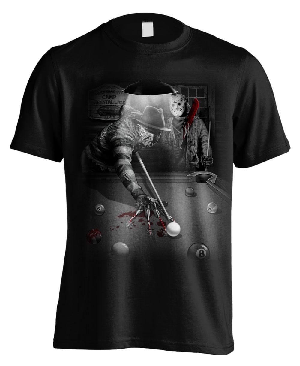 Freddy vs. Jason T-Shirt Pool Size M