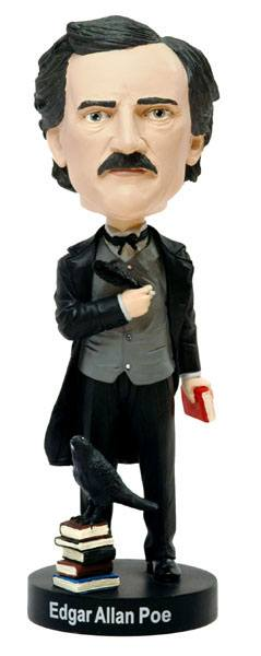 Edgar Allan Poe Bobble-Head 20 cm