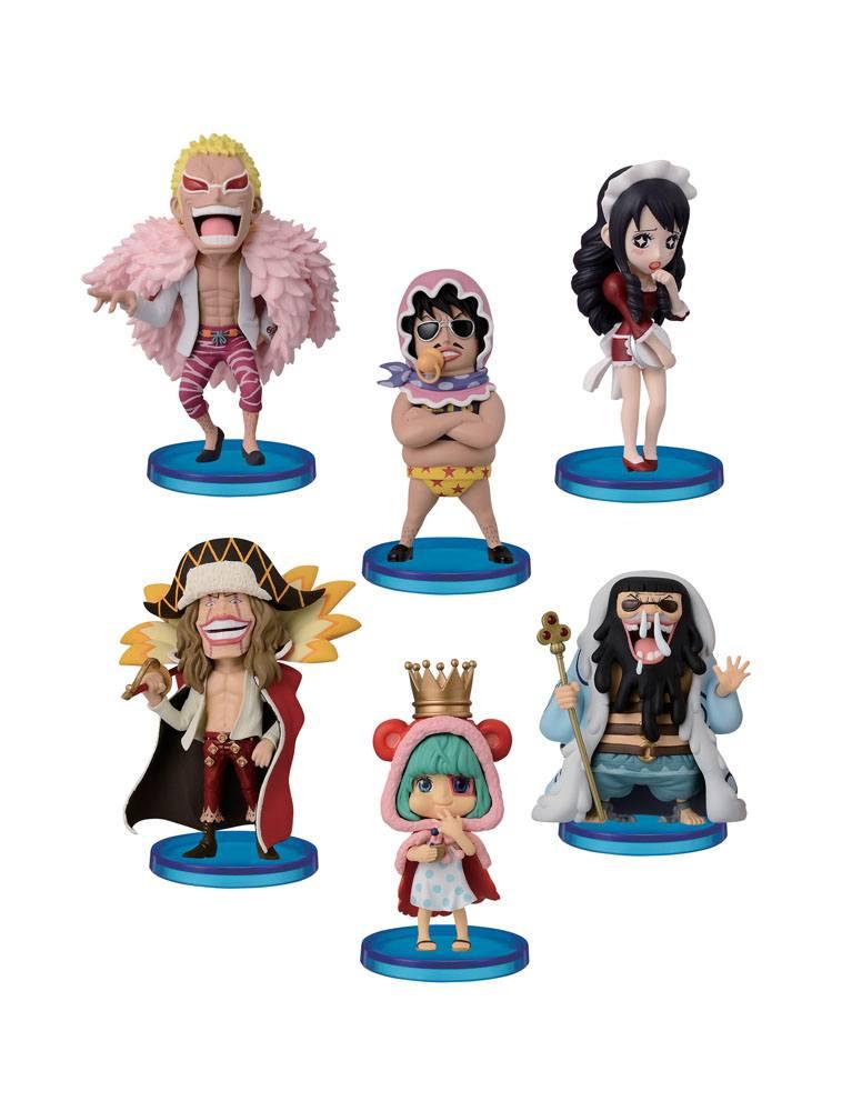 One Piece WCF ChiBi Figures 7 cm Assortment Donquixote?s Family (10)