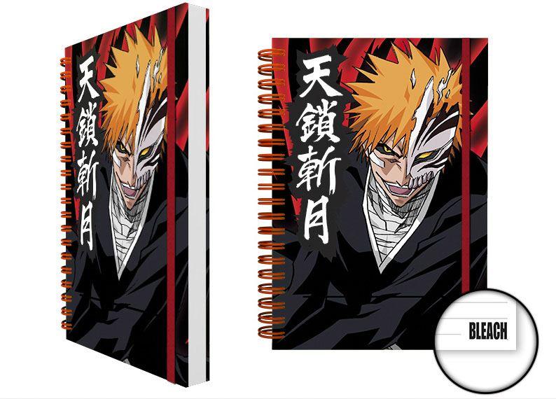 Bleach Notebook A5 Ichigo Mask Case (12)