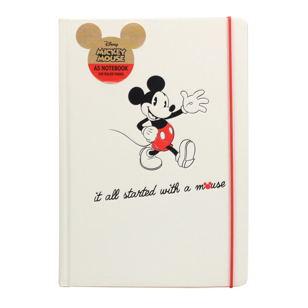Mickey Mouse A5 Notebook It All Started With A Mouse