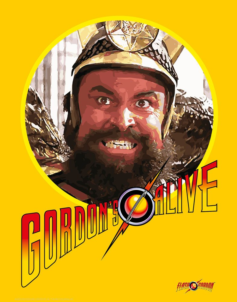 Flash Gordon Art Print Gordons Alive 35 x 28 cm