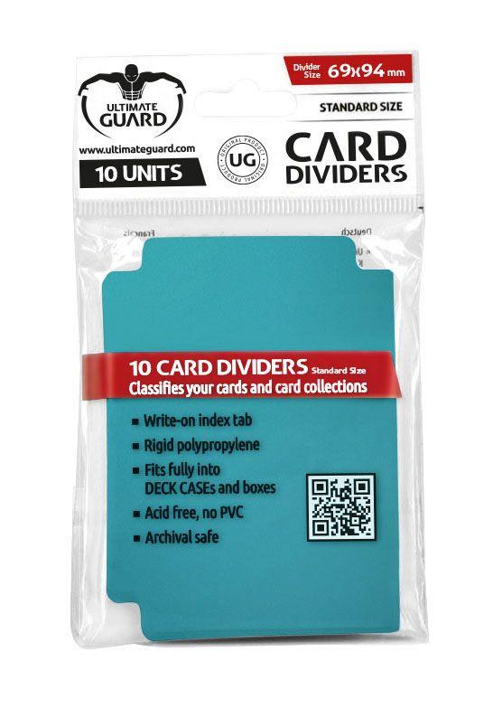 Ultimate Guard Card Dividers Standard Size Petrol Blue (10)