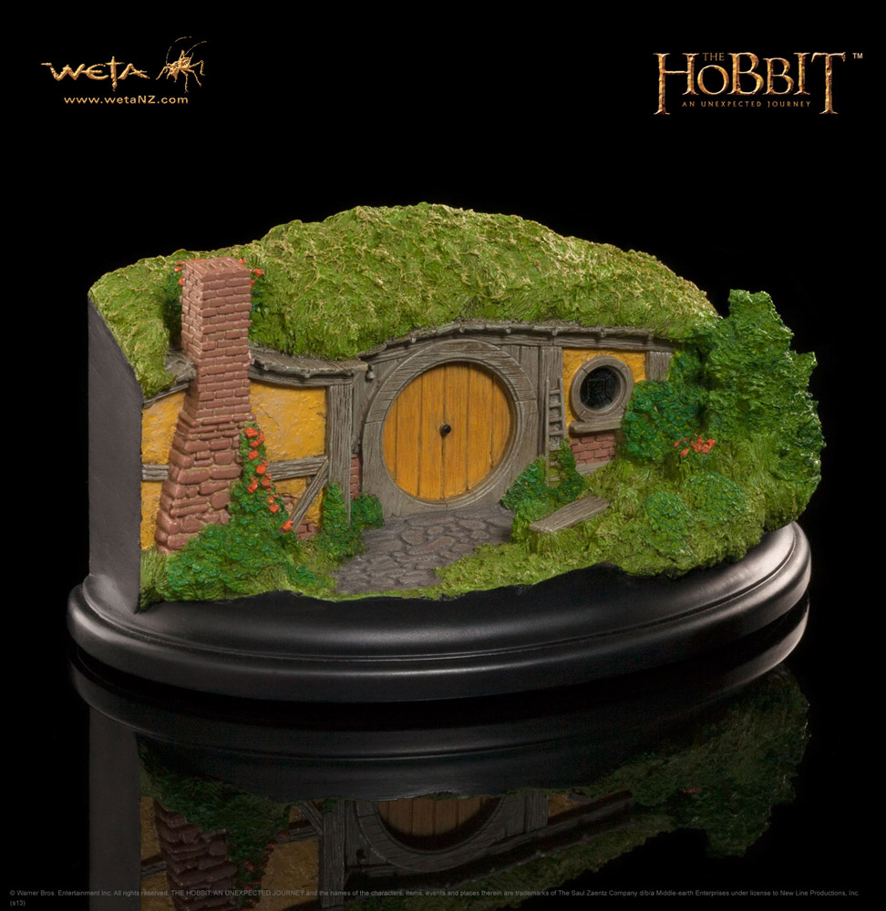 The Hobbit An Unexpected Journey Statue 1 Bagshot Row 6 cm