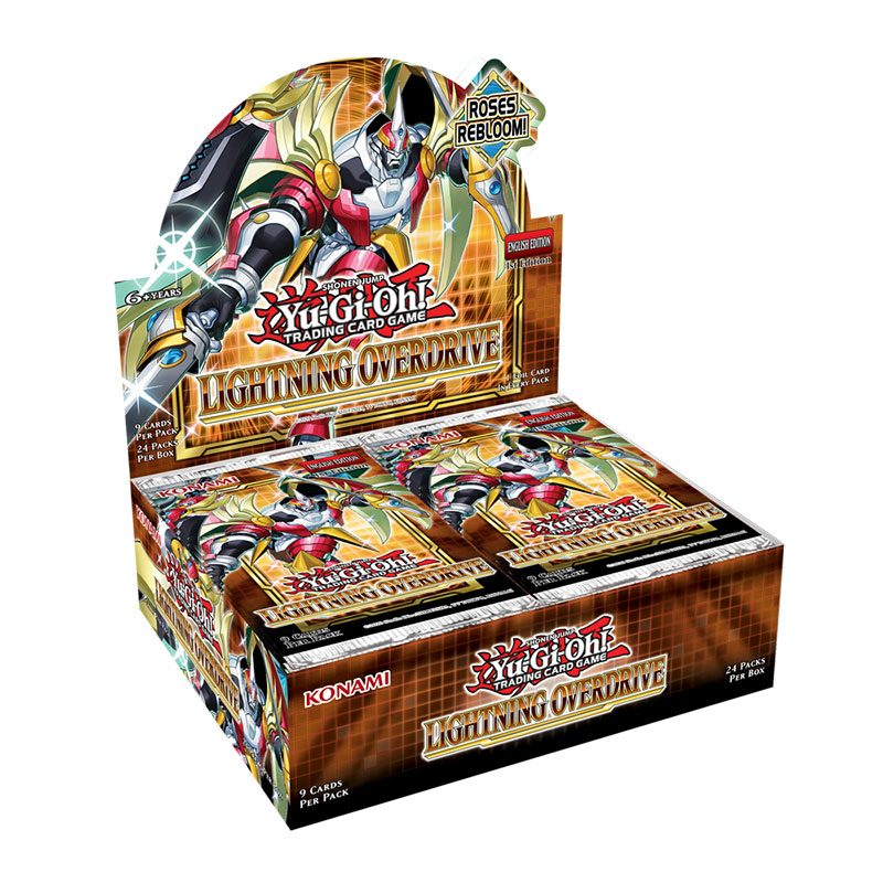 Yu-Gi-Oh! Lightning Overdrive Booster Display (24) *English Version*