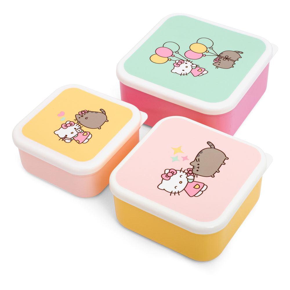 Pusheen Snack Box Set Hello Kitty