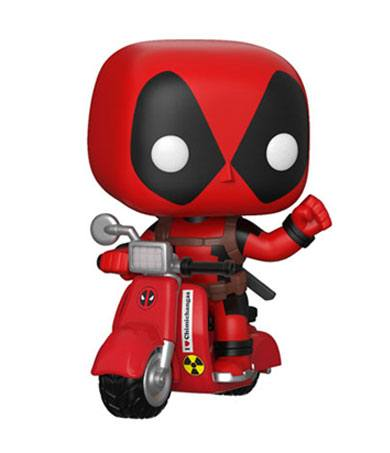 Deadpool POP! Rides Vinyl Figure Deadpool & Scooter 9 cm