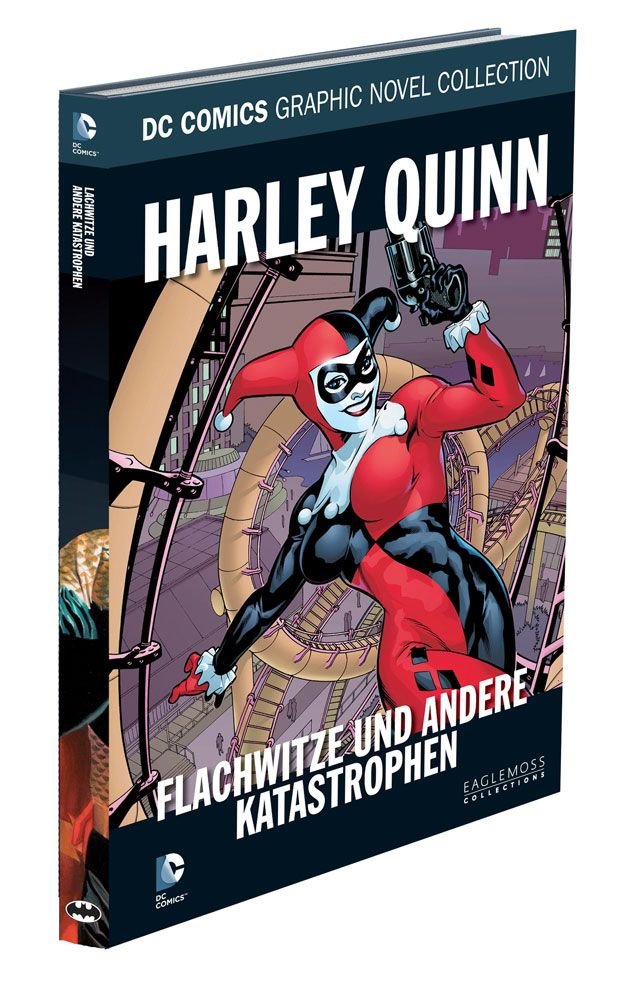 DC Comics Graphic Novel Collection Harley Quinn: Flachwitze ... Case (12) *German Version*
