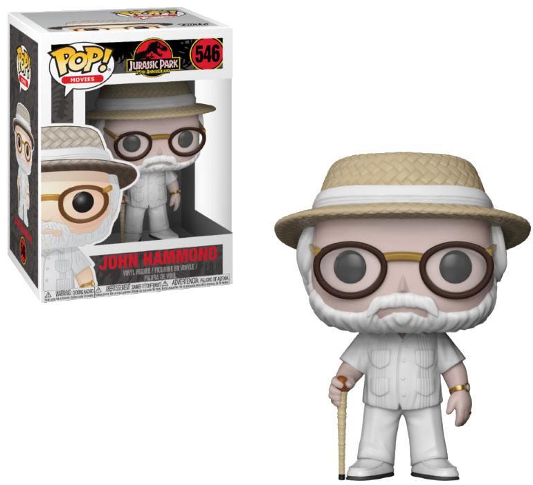 Jurassic Park POP! Movies Vinyl Figure John Hammond 9 cm