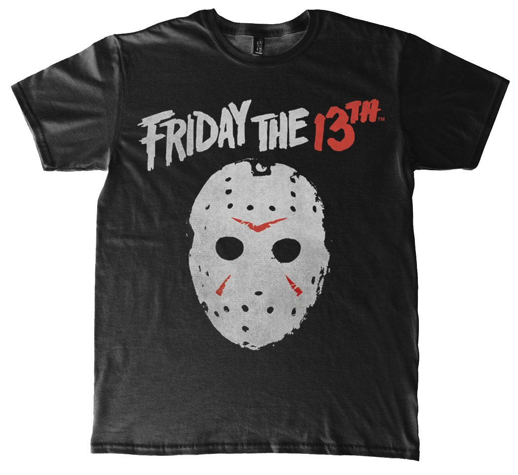 Friday the 13th T-Shirt Mask Size M