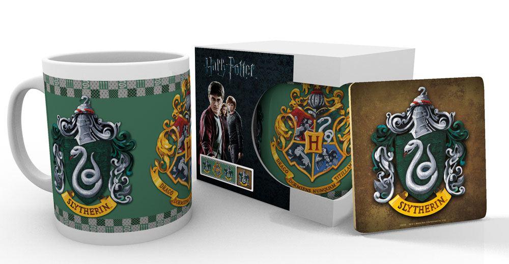 Harry Potter Mug with Coaster Slytherin