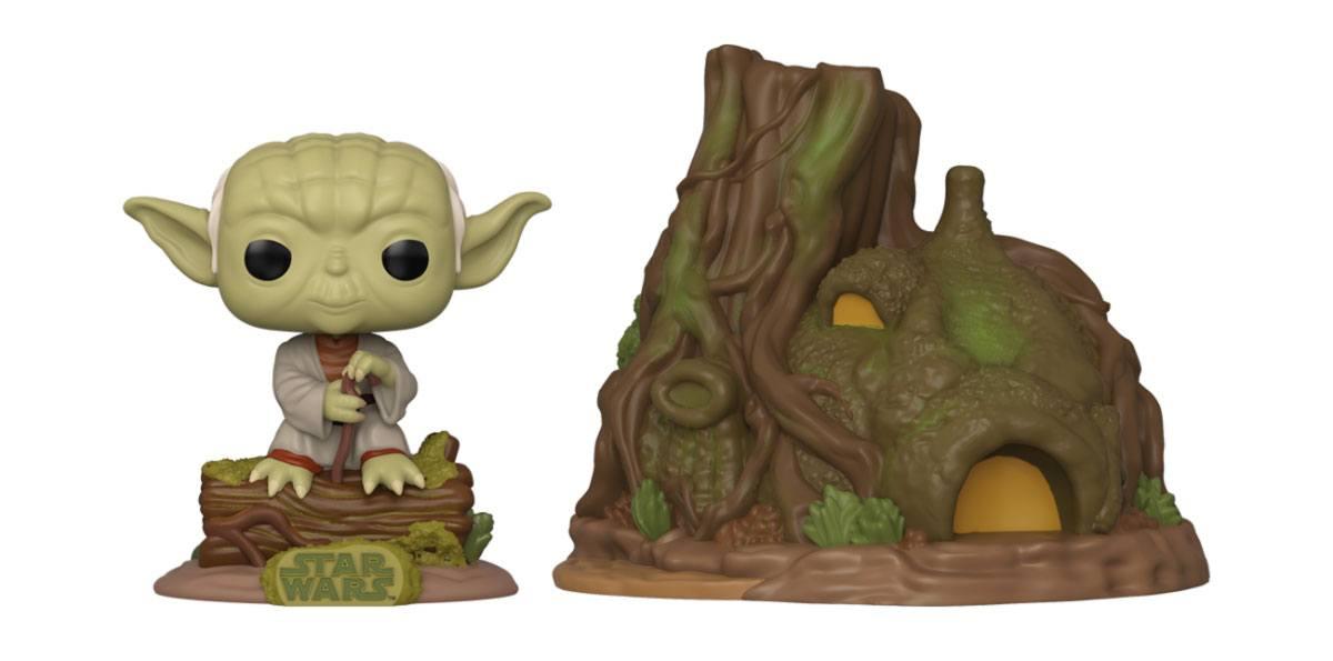 Star Wars POP! Town Vinyl Figure Yoda's Hut Empire Strikes Back 40th Anniversary 9 cm