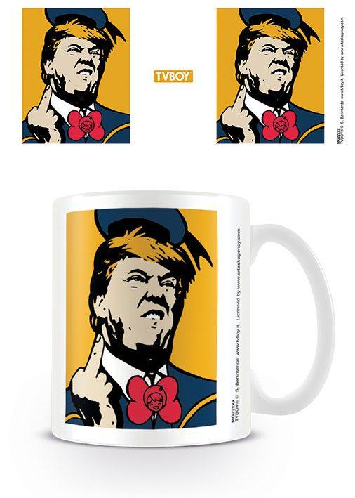 TVBOY Mug Angry Donald