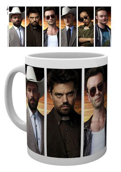 Preacher Mug Characters