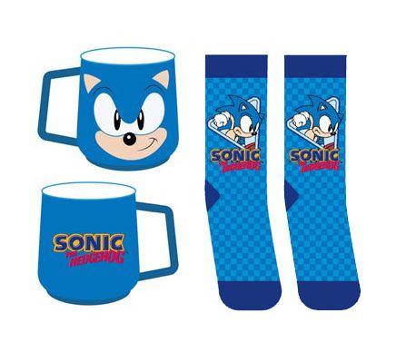 Sonic the Hedgehog Mug & Socks Set Sonic
