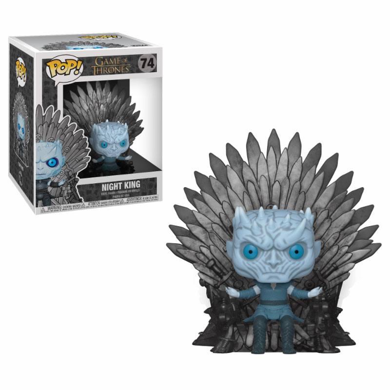 Game of Thrones POP! Deluxe Vinyl Figure Night King on Iron Throne 15 cm