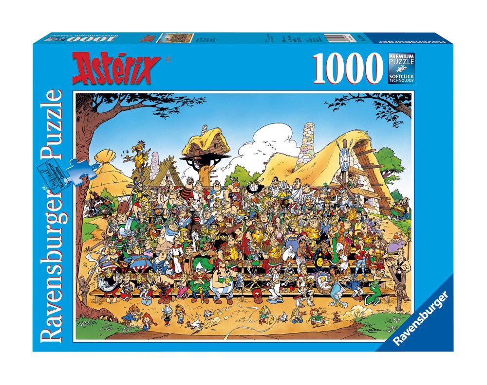 Asterix Jigsaw Puzzle Family Photo (1000 pieces)