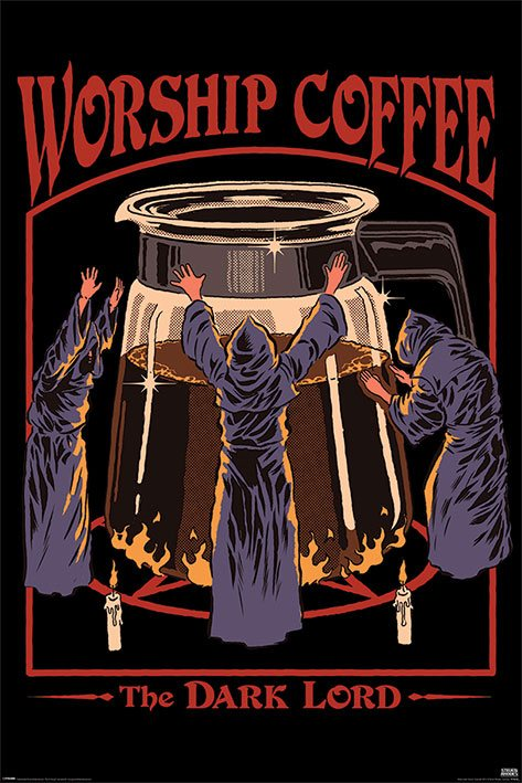 Steven Rhodes Poster Pack Worship Coffee 61 x 91 cm (5)