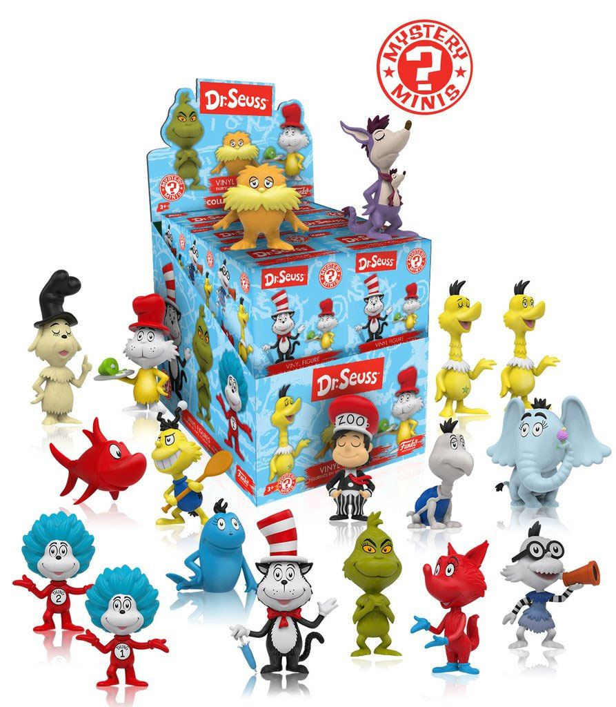 Dr. Seuss Mystery Minis Vinyl Mini Figures 6 cm Display (12)