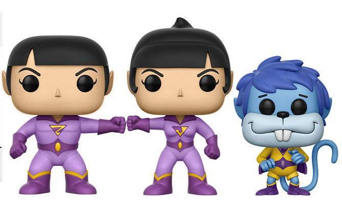 DC Comics POP! Vinyl Figure 3-Pack Wonder Twins Summer Convention Exclusive 9 cm