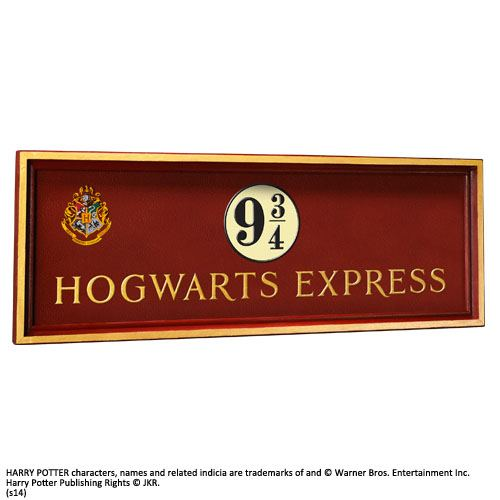Harry Potter Wall Plaque Hogwarts Express 56 x 20 cm