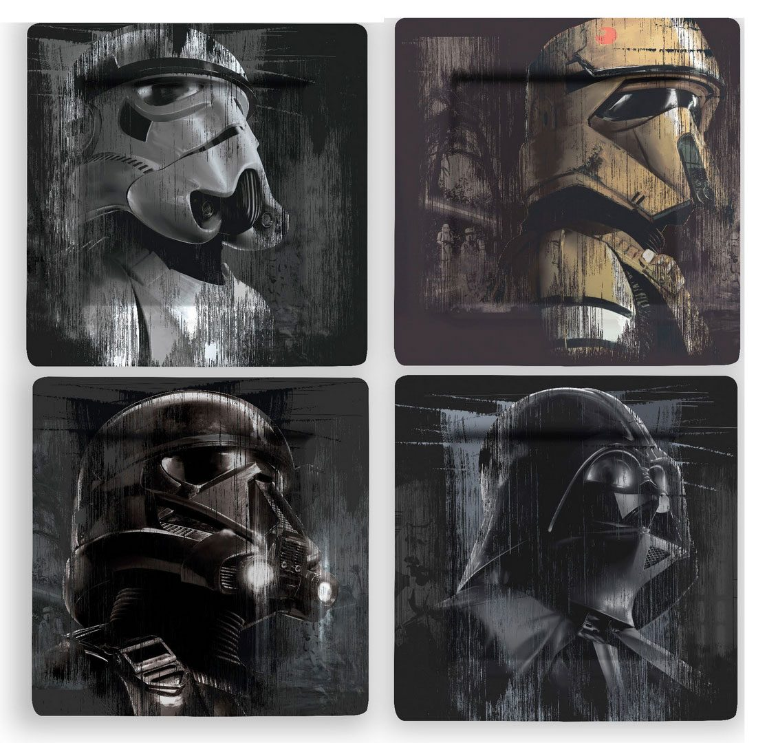 Star Wars Plates 4-Pack Villains