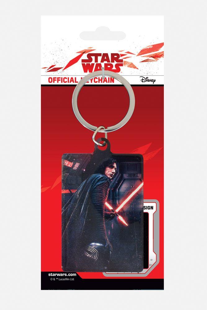 Star Wars Episode VIII Metal Keychain Kylo Ren Rage 6 cm