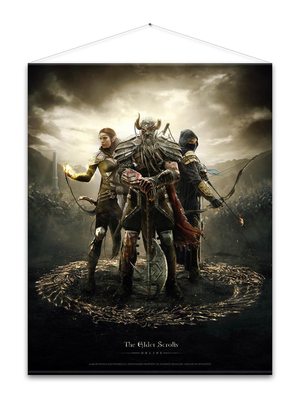 The Elder Scrolls Online Wallscroll Legends 100 x 77 cm