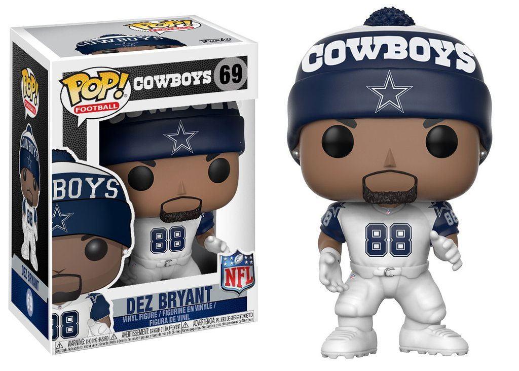 NFL POP! Football Vinyl Figure Dez Bryant (Dallas Cowboys) 9 cm