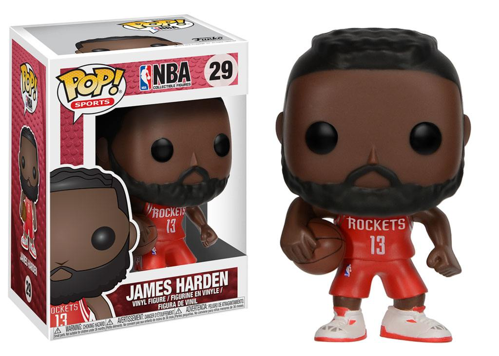 NBA POP! Sports Vinyl Figure James Harden (Houston Rockets) 9 cm