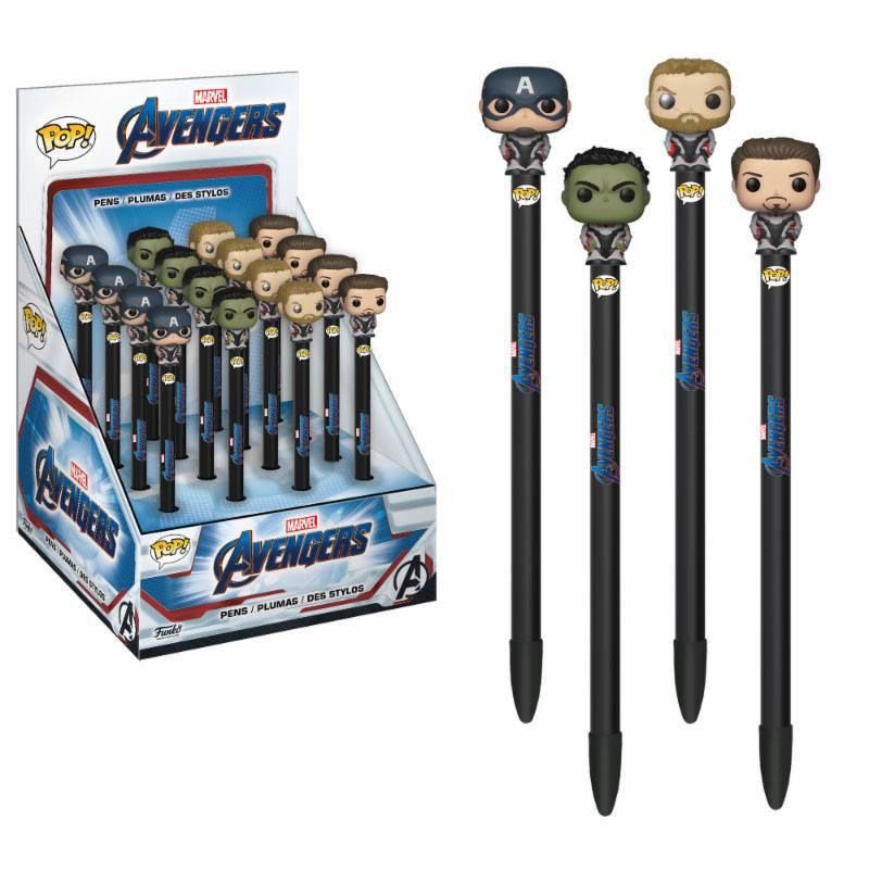 Avengers Endgame POP! Homewares Pens with Toppers Display (16)